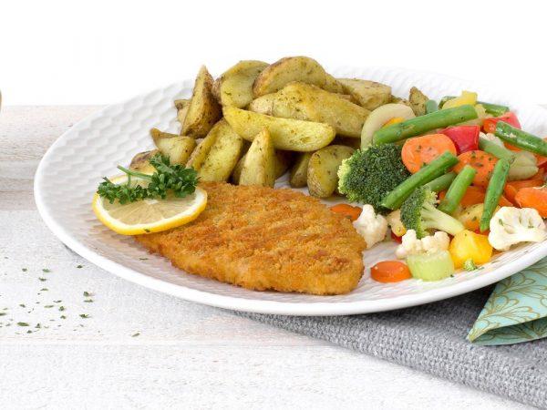 Schouten Europe - Manufacturer of meat substitutes: Vegetarian Schnitzel