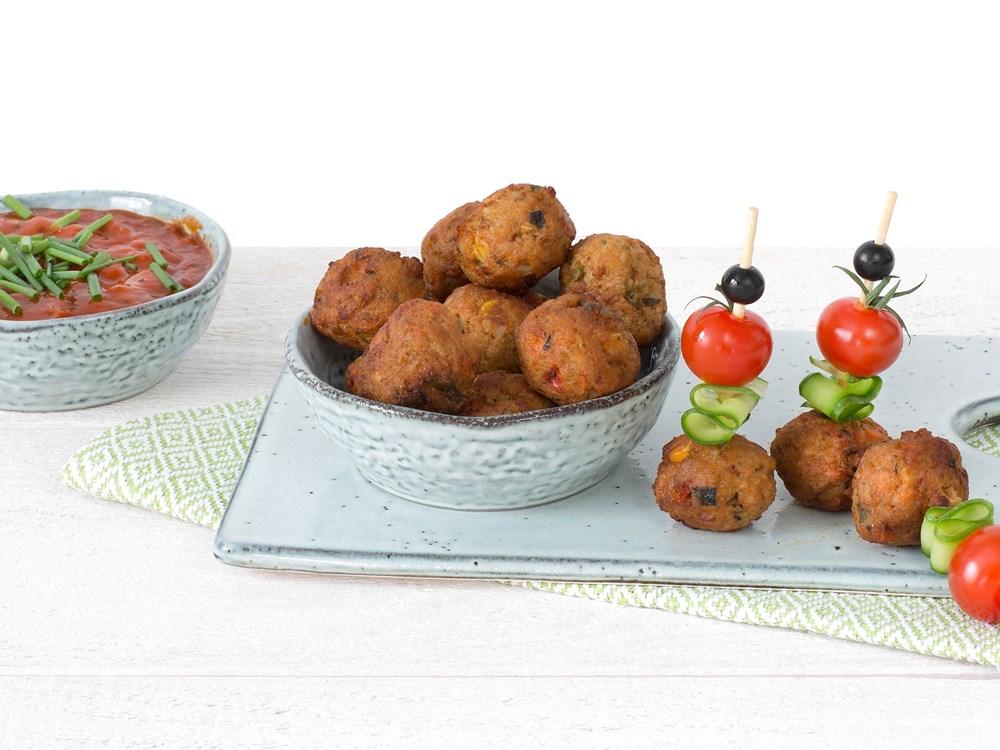 Schouten Europe - Manufacturer of meat substitutes: Vegetarian Vegetable Balls
