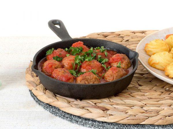 Schouten Europe - Produzent Fleischersatz: Vegetarische Klößchen