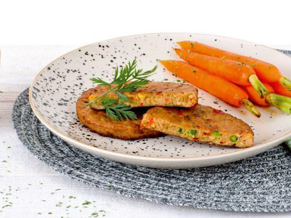 Fleischersatz: Vegetarischer Gemüseburger
