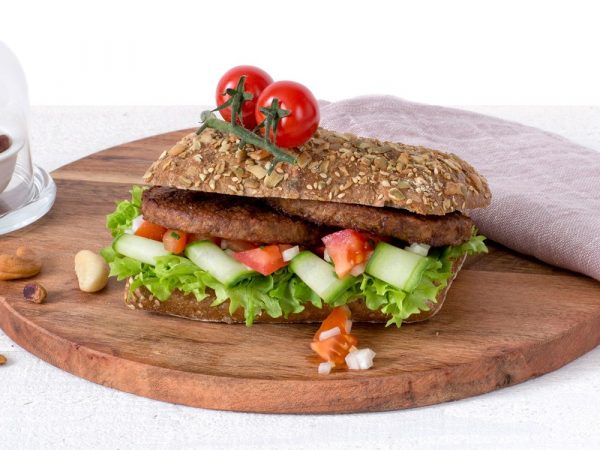 Schouten Plant-based product - vegan nut burger