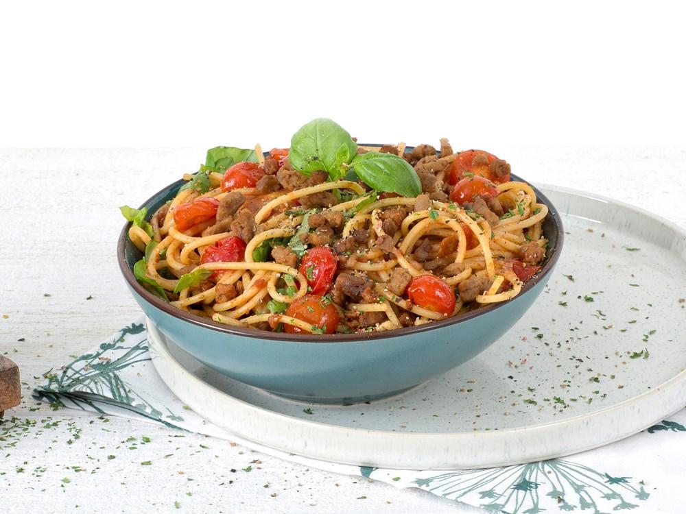 Schouten Europe: manufacturer vegetarian en vegan meat substitutes: Vegan Mince