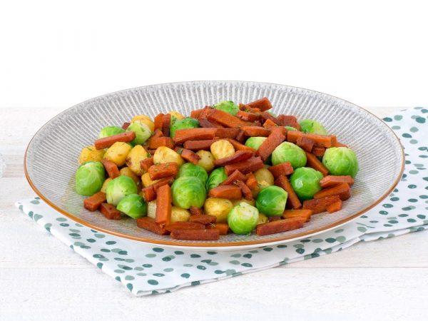 Schouten Europe - Manufacturer of meat substitutes: Vegetarian Bacon