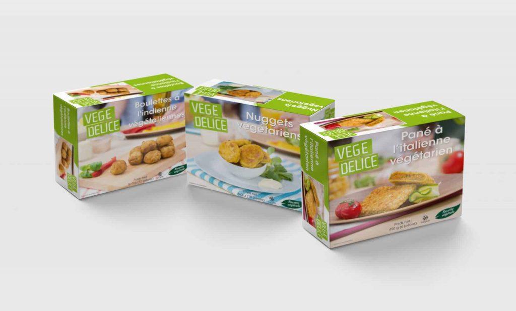 Diepvries: Topseal consumentenverpakking, Foodservice doos, Toploading, Bulk doos of krat