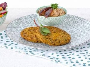 Meat substitute: Vegan Lentil Burger