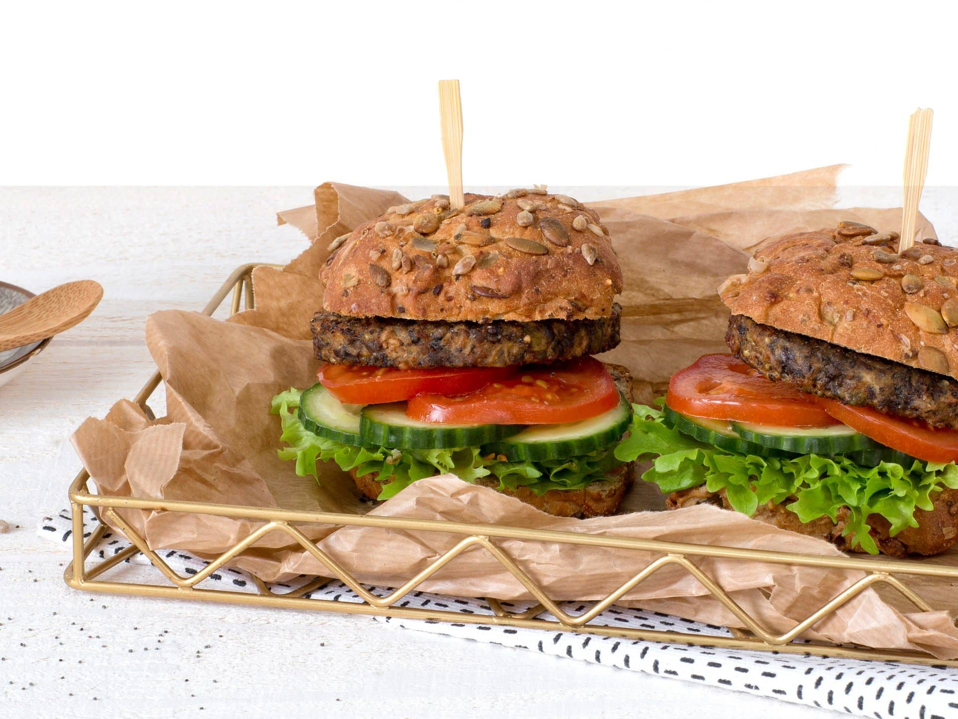 Meat substitute: Vegetarian Seeds Burger