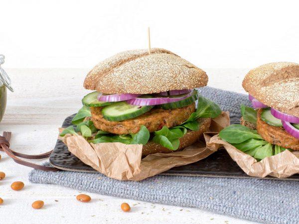 Meat substitutes: Vegan Bean Burger