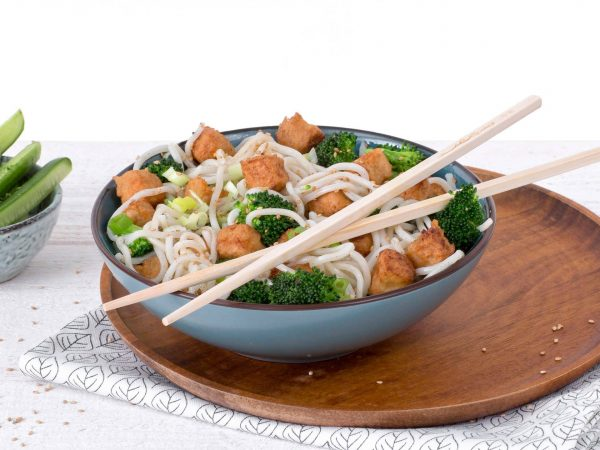 substitut de viande: cubes végétariens