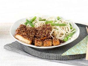 Fleischersatz: GoodBite vegan tofu block