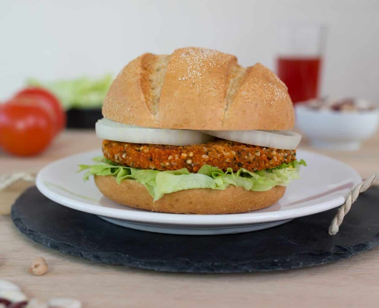 Bohnen Quinoa Burger