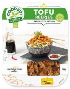 Koevlvers: Topseal consumentenverpakking, PET schaal met sleeve, etiket of label