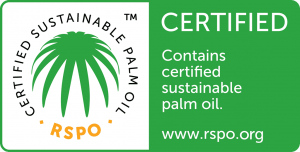 Schouten Europe utilise huile de palme durable - est membre de la RSPO