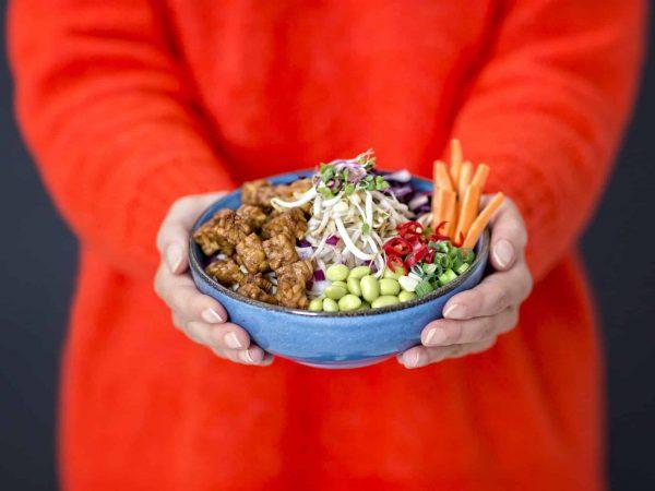 Vleesvervanger: vegan tempeh