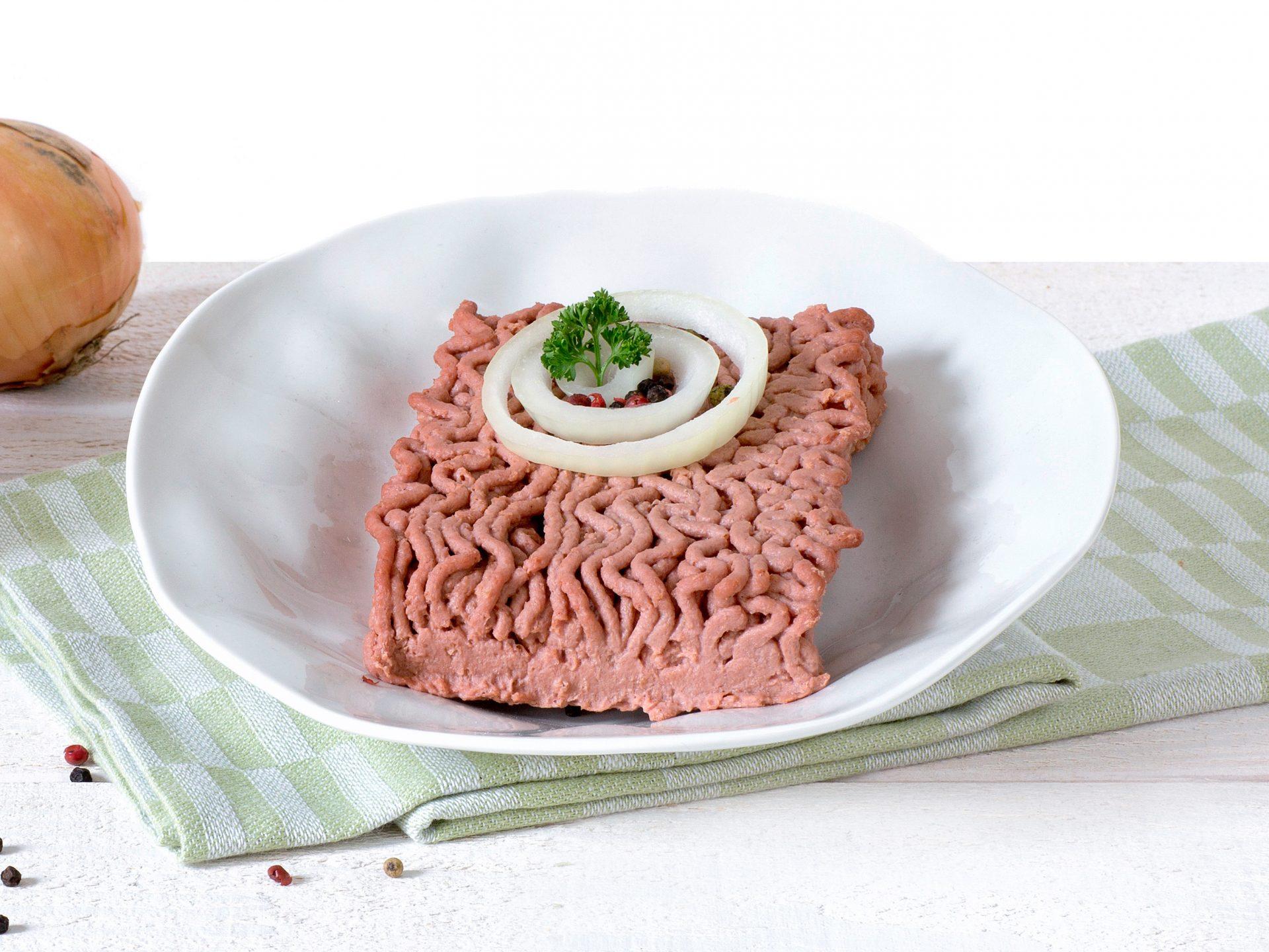 Fleischersatz: vegetarischen Hackfleisch