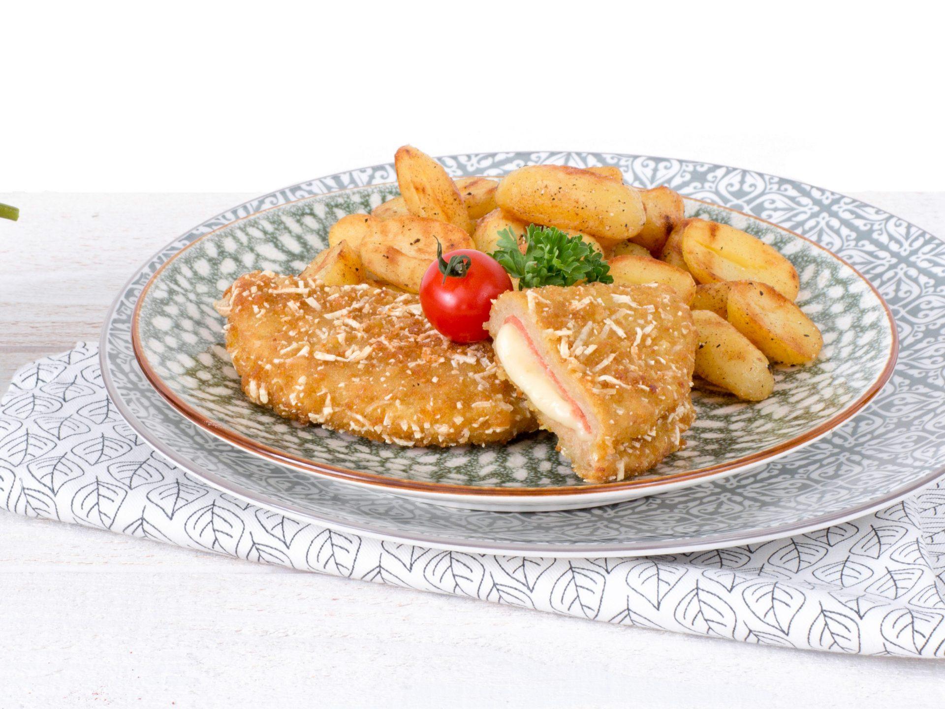 Fleischersatz: vegetarische Cordon-Bleu