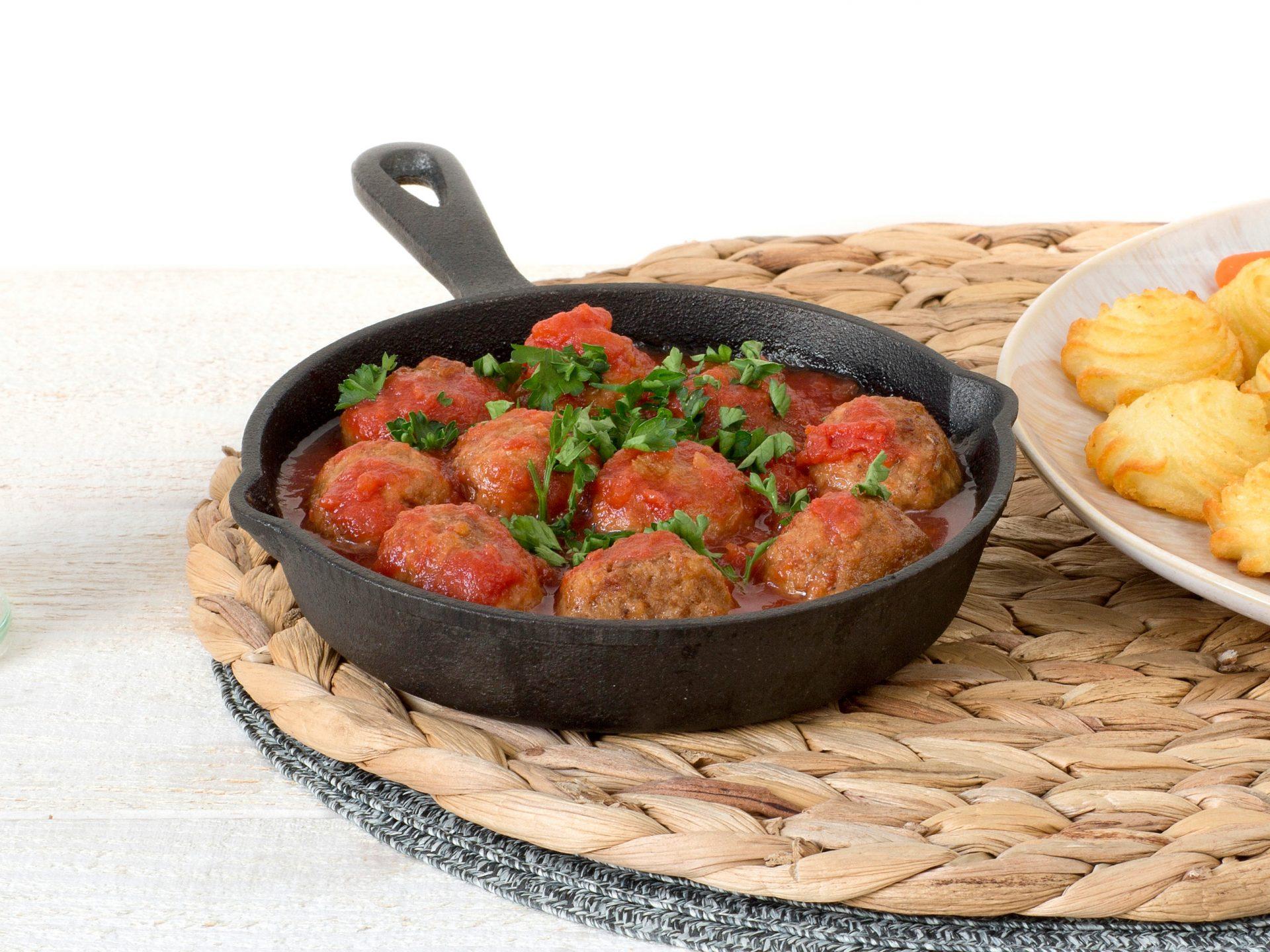 Fleischersatz: vegetarische Klösschen