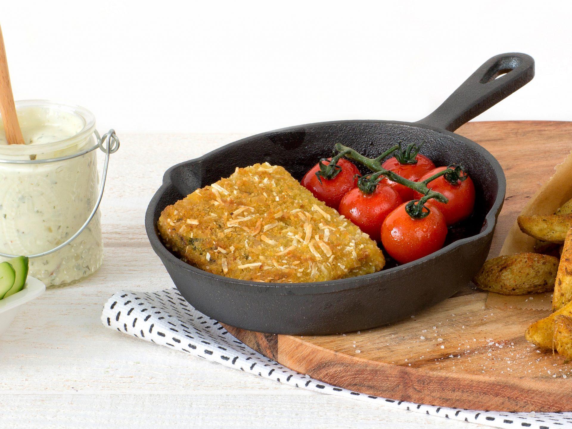 Fleischersatz: vegetarische Italienische Karré