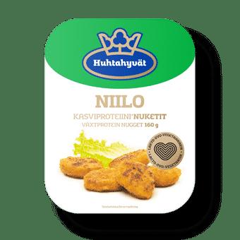 Vleesvervangers: Vegetarische nuggets niilo-160g