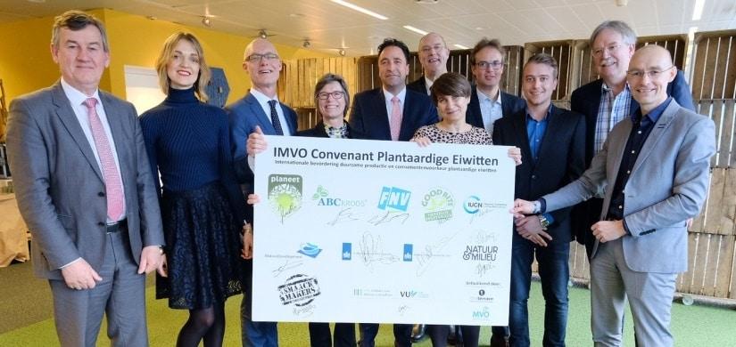 Convenant IMVO plantaardige eiwitten Henk Schouten