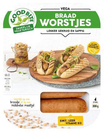 vegetarische braadworstjes