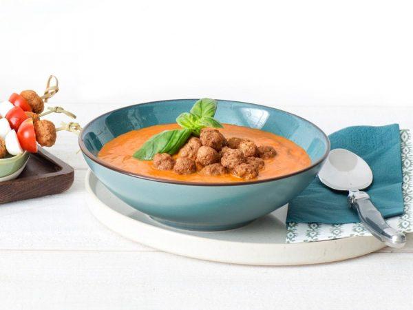 Schouten Europe - Produzent Fleischersatz: Vegetarische Suppenklößchen