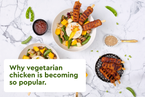 Blog 1 - Why vegetarian chicken is becoming so popular