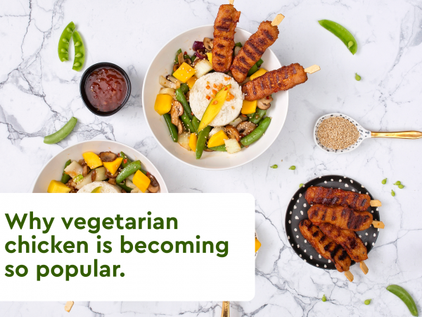 Schouten Specialist in the development of plant-based products - Blog 1 - Why vegetarian chicken is becoming so popular