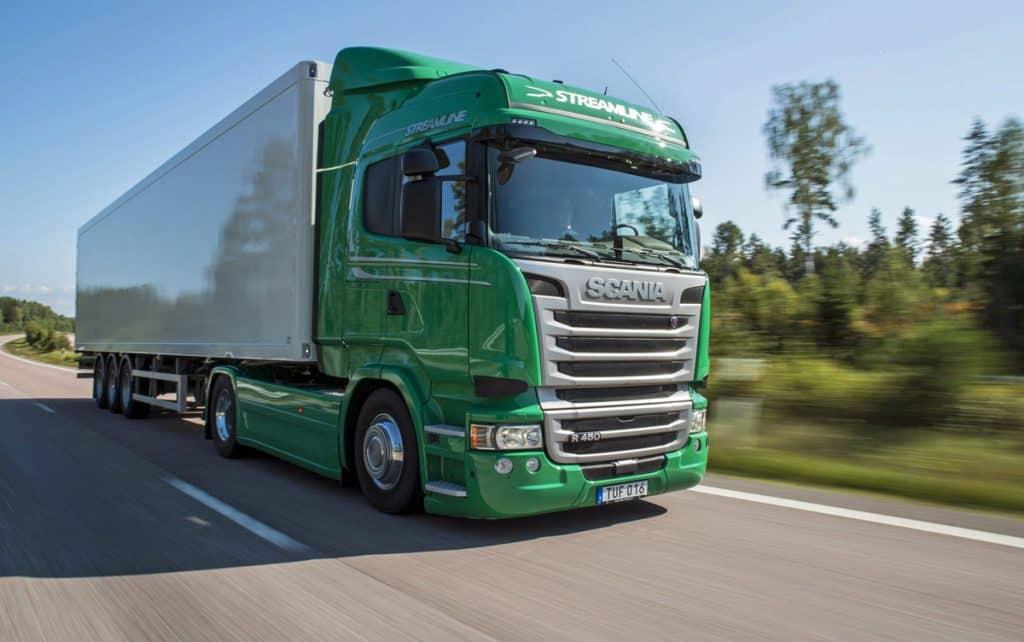 Green-Scania-Truck