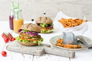 Schouten Europe: Specialist in the development of plant-based protein products: Vegan Lentil Burger