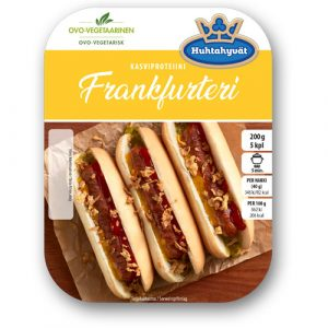 Schouten Europe- Specialist in plant-based protein: Meat substitutes - vegetarian Frankfurters