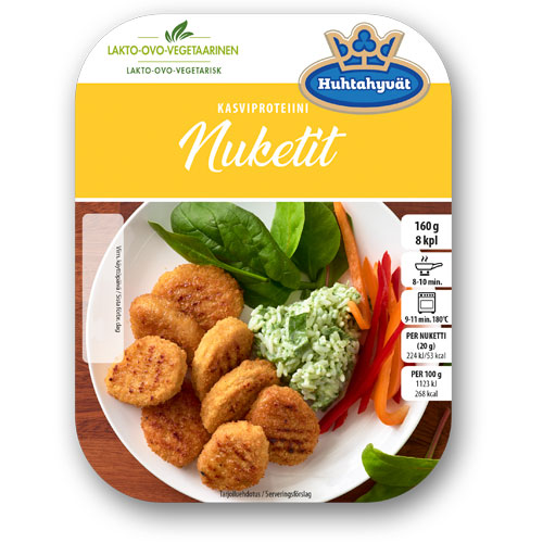 Schouten Europe- Specialist in plant-based protein: Meat substitutes - vegetarian Nuggets