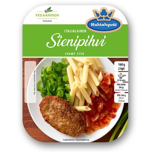 Schouten Europe- Specialist in plant-based protein: Meat substitutes - vegan Italiaanse Champignonburger
