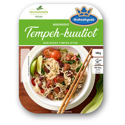 Schouten Europe- Specialist in plant-based protein: Meat substitutes - vegan Tempeh