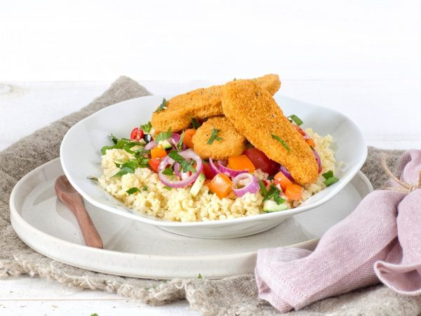 Schouten Europe - Produzent Fleischersatz: Veganes Filet ohne Huhn