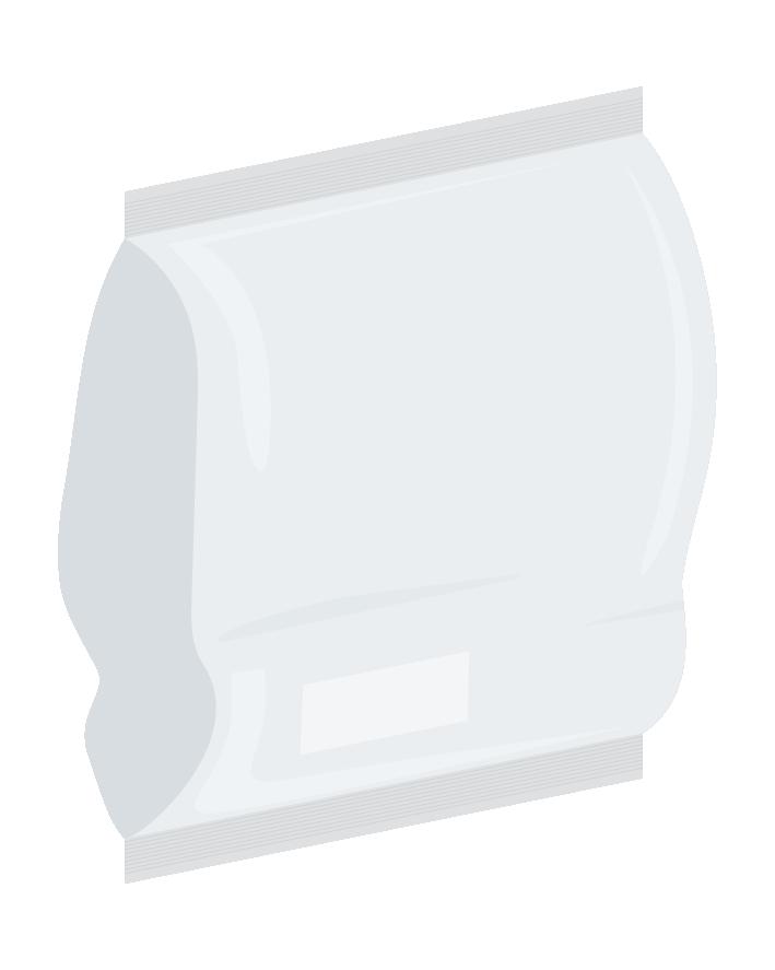 Foil Bag - frozen plant-based products