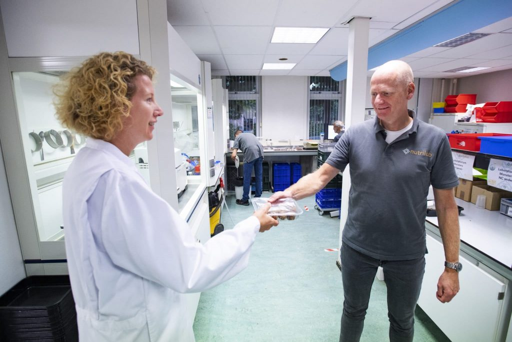 Schouten Specialist in the development of plant-based products - nutrilab