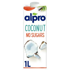 alpro coconut no sugars