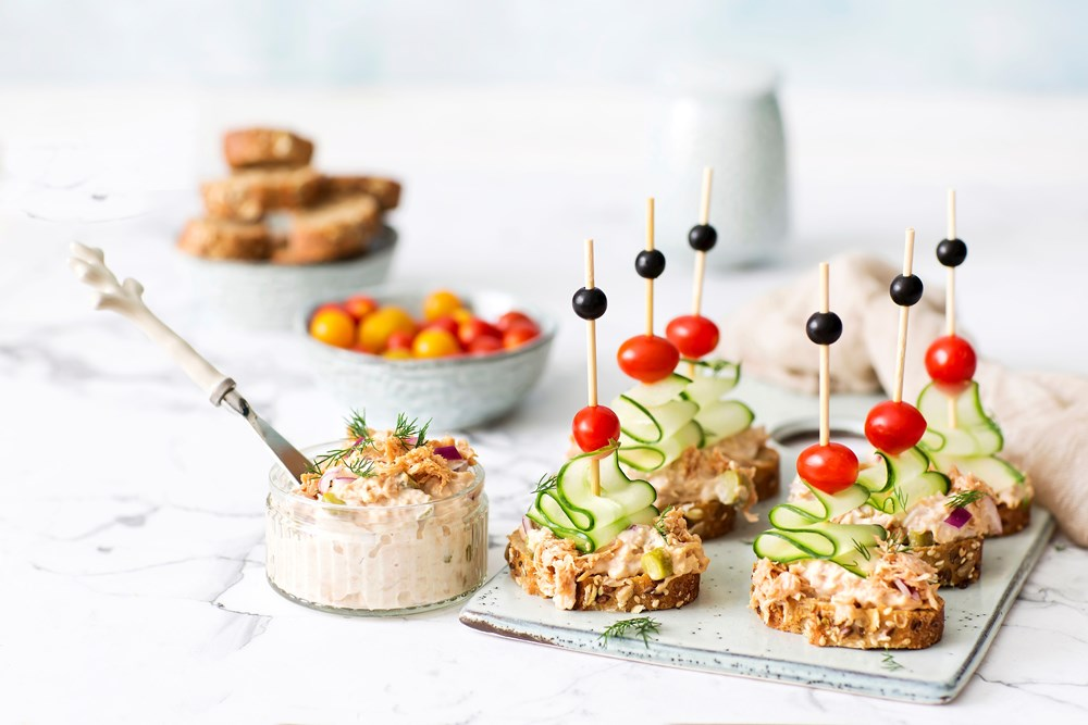 Schouten Europe - Manufacturer of meat substitutes: Vegan Green Tuna