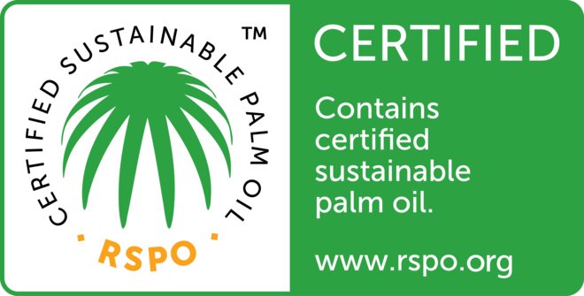 Schouten Specialist in the development of plant-based products - Certified Sustainable Palm Oil
