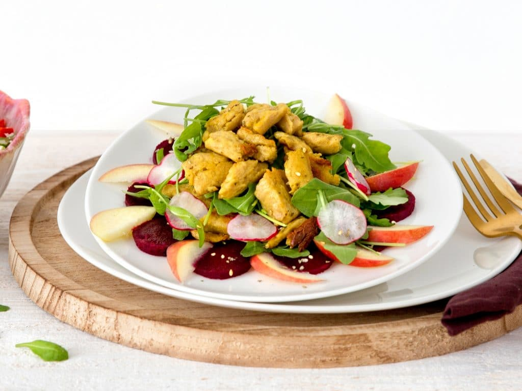 Schouten plant-based products: Vegan chickenless filet pieces
