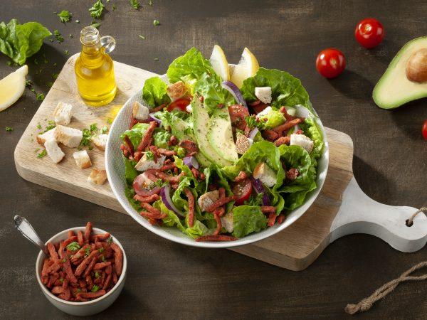 Schouten: specialist in plant-based protein - Lean Vegan Bacon