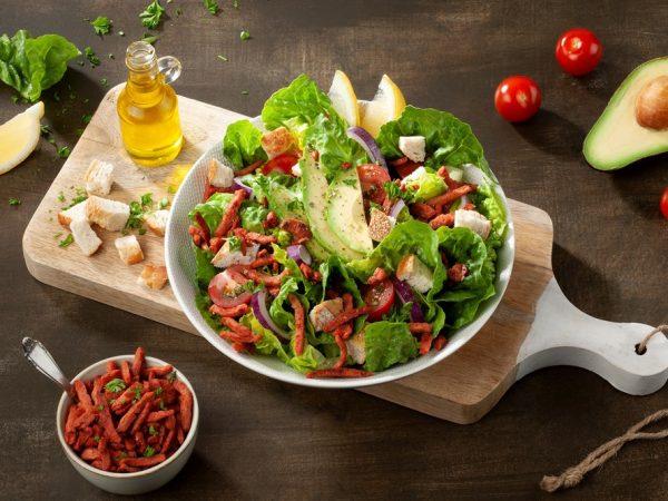 Schouten Europe - Manufacturer of meat substitutes: Vegan Bacon