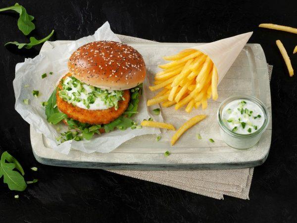 Schouten Europe - Producent vleesvervangers: Vegan Burger zonder Vis