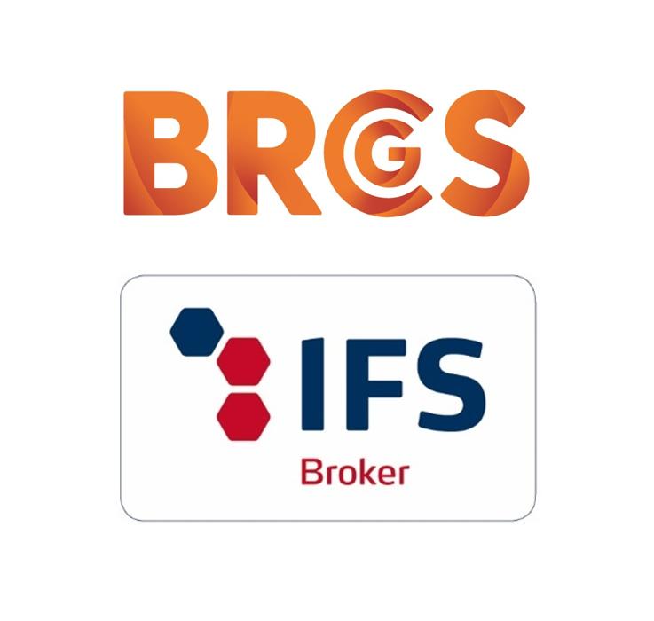 BRCGS en IFS logo