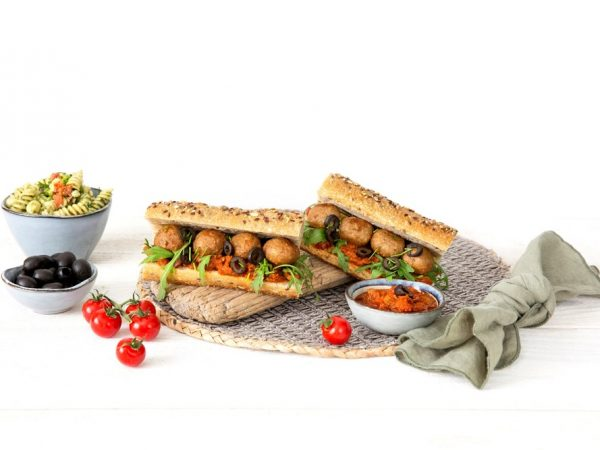 Schouten Europe - Manufacturer of meat substitutes: Vegan Balls