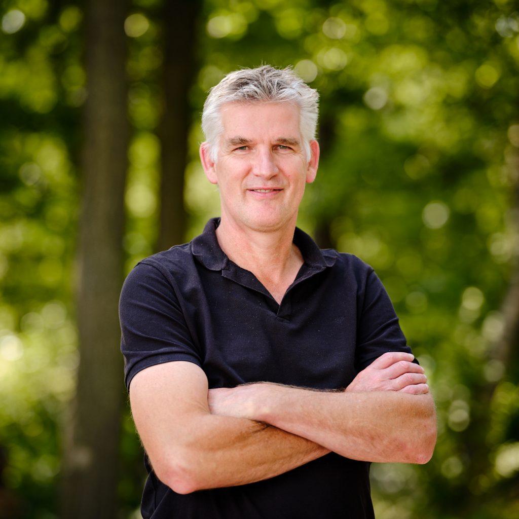 Schouten specialist in vegetarisch een vegan producten:  Op de foto: Hein Hamelijnck, Commercial Director  bij Huijbregts